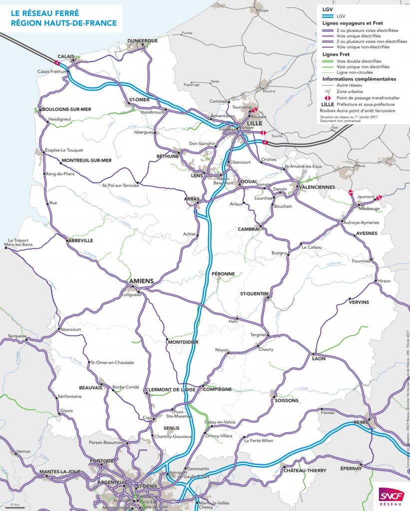 Le réseau SNCF pour se déplacer en train dans les Hauts-de-France 3