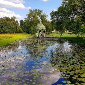 Dans le parc de Chantilly