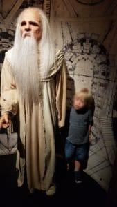 Père Fouras au Musée Grévin
