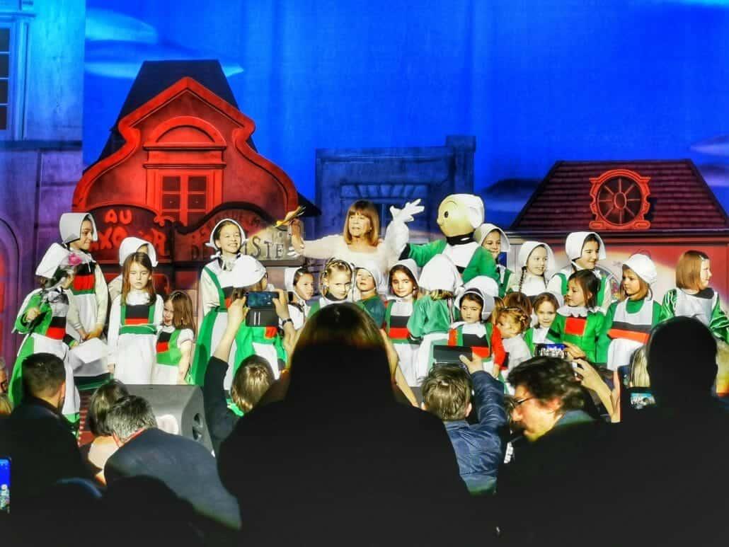 Chantal Goya et les bécassines à Douai 2020