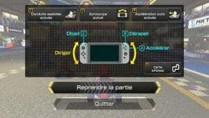 Mario Kart 8 sur Switch pour les enfant de 3 à 5 ans