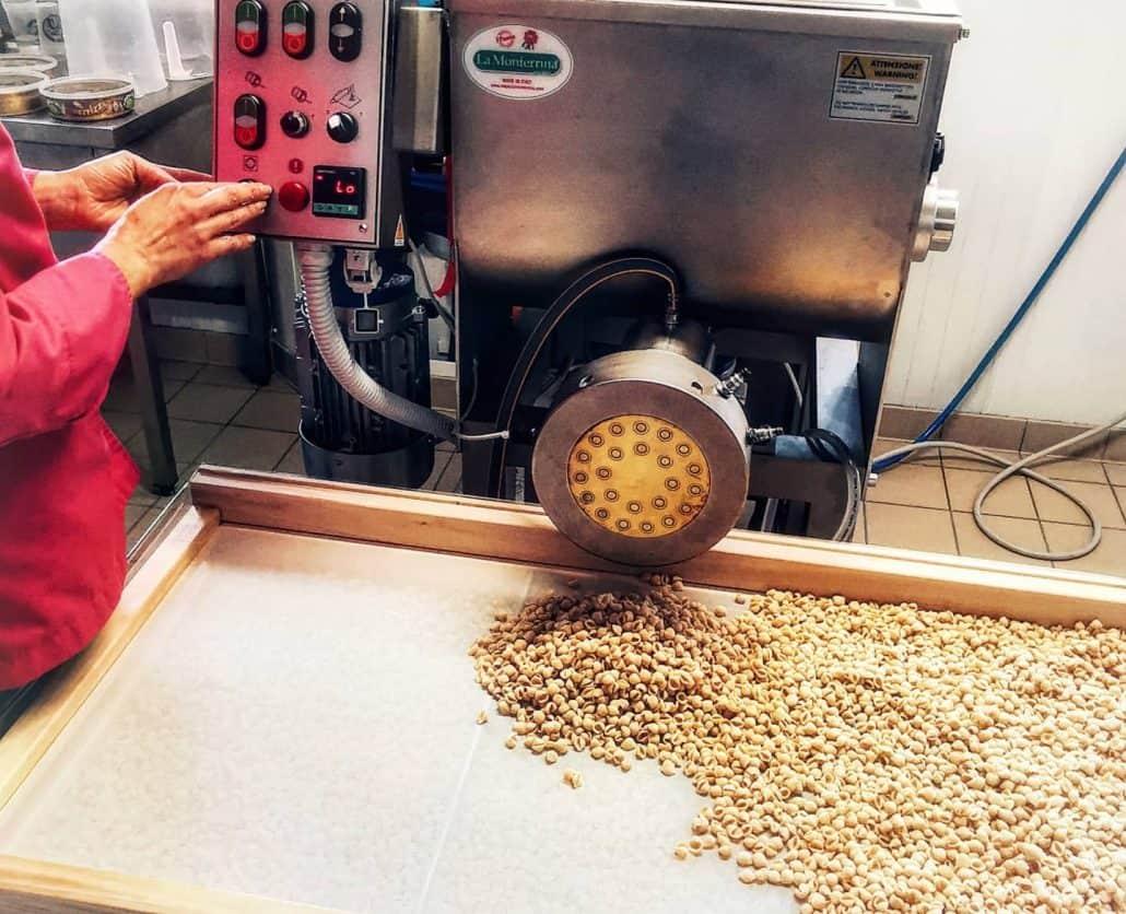 Photo de la machine à pâte