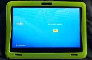 La tablette Gulli Kurio Ultra 3