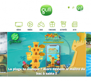 Capture du site Gulli.fr