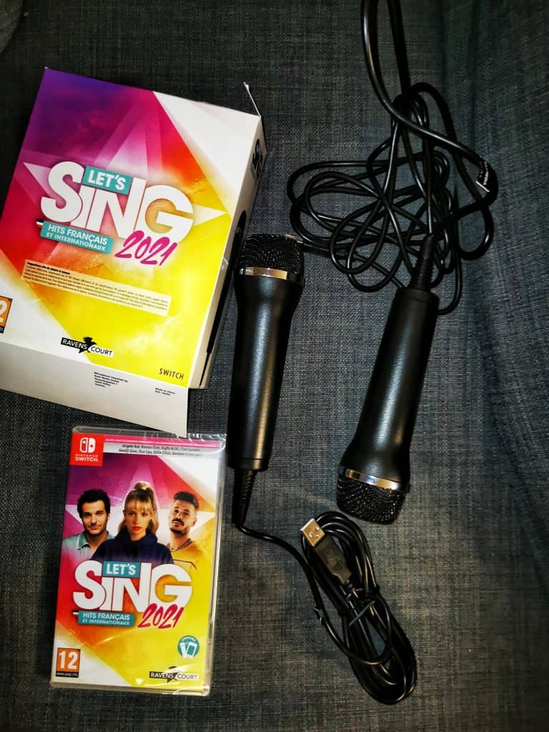 Let's sing 2021, un karaoké sur Switch