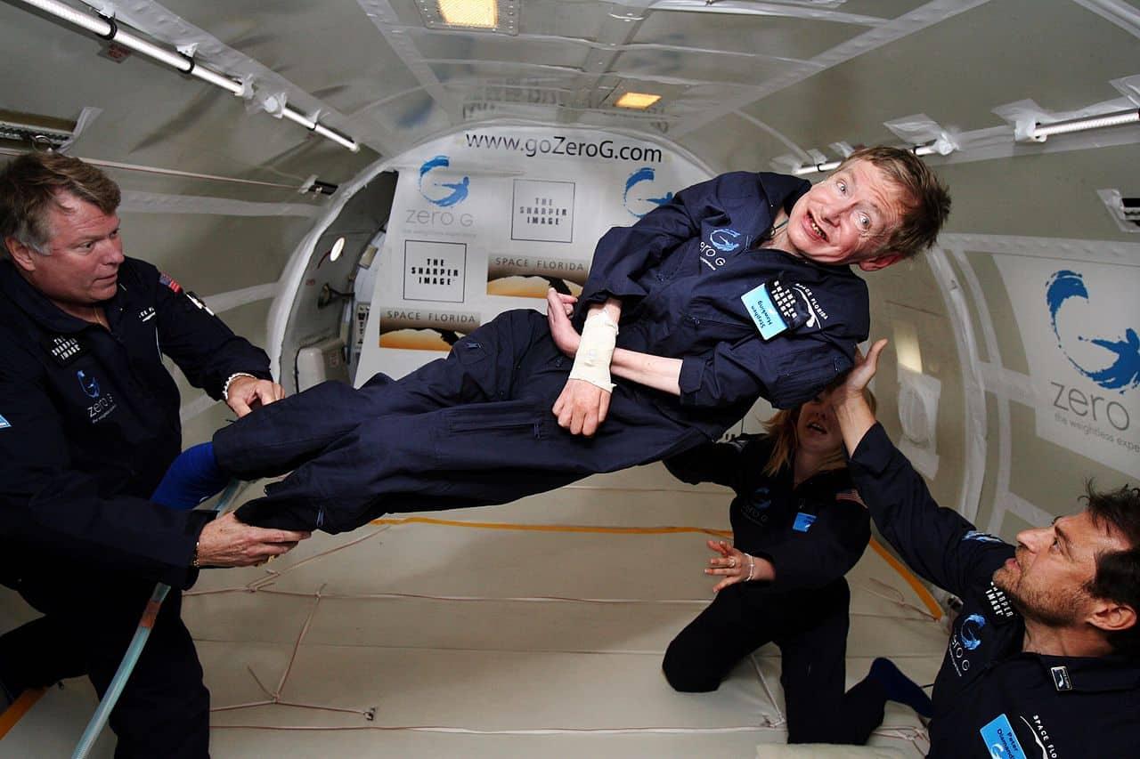 Photo de Stephen Hawking