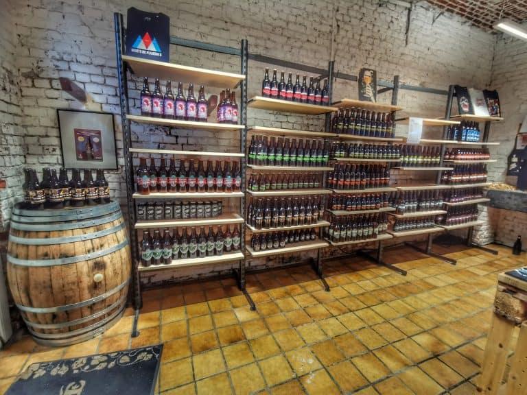 Boutique de la brasserie du pays flamand