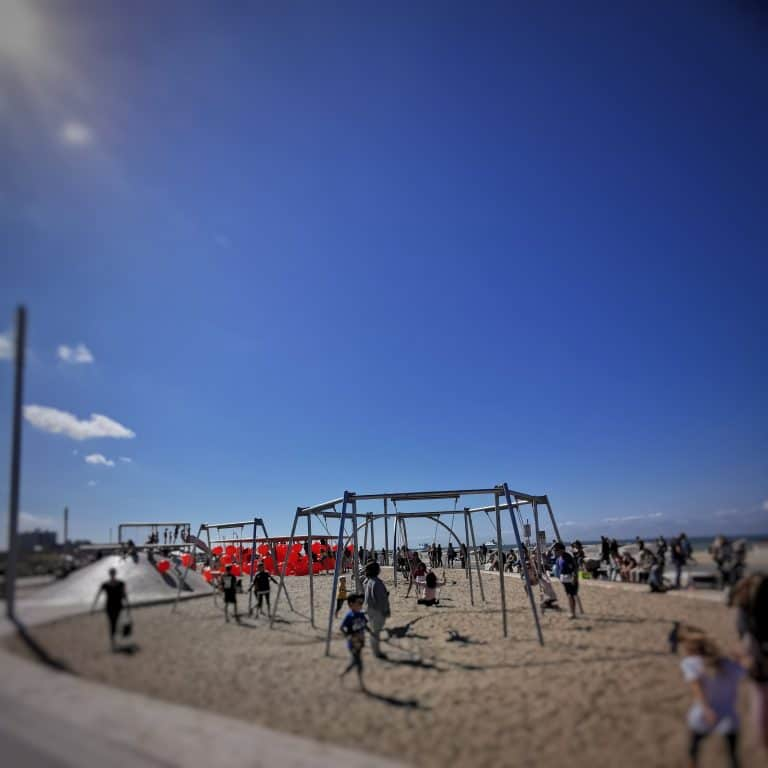 Jeux de plage pour les enfants